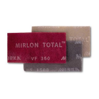 MIRKA MIRLON TOTAL Schleifvlies 115x230mm VF 360 ROT (25 St.)